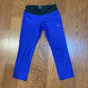 Nike Pro Running Crops, SZ XS
